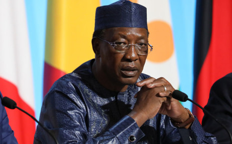 FILE: Chad President Idriss Deby. Picture: AFP.