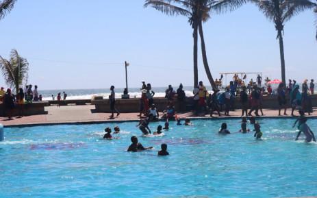 Durban's beachfront on 16 December 2019. Picture: @eThekwiniM/Twitter