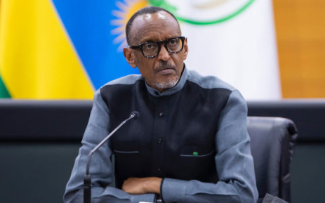 Rwandan President Paul Kagame. Picture: @UrugwiroVillage/Twitter