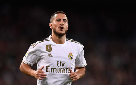 Real Madrid forward Eden Hazard in action during the Spanish League football match against Real Betis at the Santiago Bernabeu stadium in Madrid, on 2 November 2019. Picture: AFP