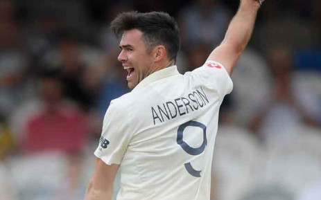 England's James Anderson in action against the Proteas on 5 January 2020. Picture: Twitter/@englandcricket