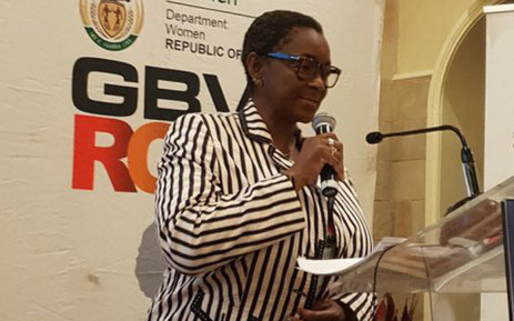 Minister in the Presidency Responsible for Women Bathabile Dlamini. Picture: @DepartmentWomen/Twitter