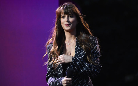 US actress Dakota Johnson speaks onstage at the 2019 Global Citizen Festival: Power The Movement in Central Park in New York on 28 September 2019. Picture: AFP