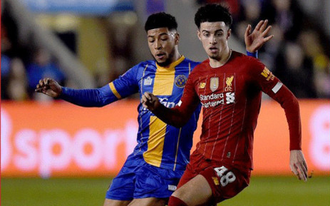 Liverpool drew 2-2 against Shrewsbury Town in the FA Cup fourth round on 26 January 2020. Picture: @LFC/Twitter.