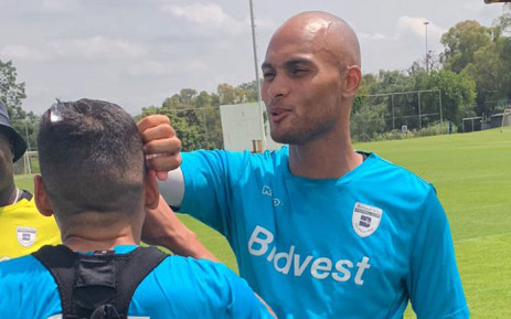 Bidvest Wits' Robyn Johannes during a training session. Picture: @BidvestWits/Twitter
