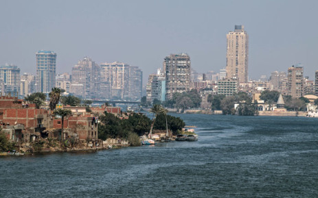 A picture shows a part of the River Nile in the Egyptian Capital Cairo on 7 March 2019. Picture: AFP