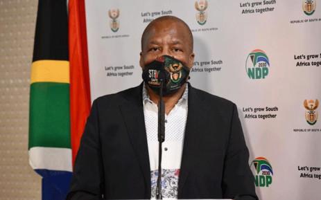 FILE: Minister in the Presidency Jackson Mthembu. Pictire: GCIS.