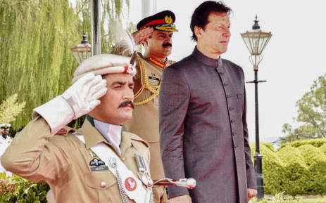 File: Pakistani Prime Minister Imran Khan inspects guard of honour on his arrival in the Prime Minister House during a ceremony in Islamabad. Khan was sworn in at a ceremony in Islamabad on 18 August. Picture: AFP