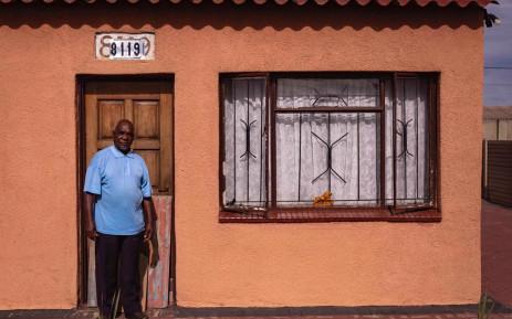Sharpeville resident Reggie Poletsi. Picture: Sethembiso Zulu/EWN.