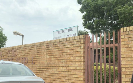The Thuto-Tiro Comprehensive School in Sebokeng, near Vanderbijlpark in Gauteng. Picture: @Lesufi/Twitter