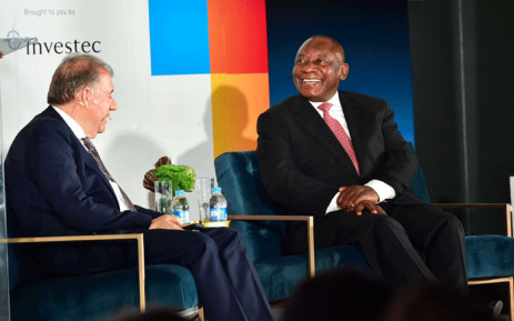 President Cyril Ramaphosa in conversation with the Jewish Board of Deputies facilitated by Investec Group's Chief Executive Officer Stephen Koseff held at The Galleria in Johannesburg on 25 November 2018. Picture: GCIS.