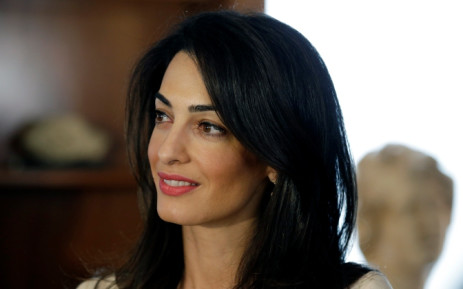 FILE: Human rights lawyer Amal Alamuddin Clooney. Picture: AFP