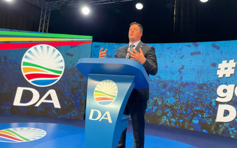 Democratic Alliance leader John Steenhuisen at the party's manifesto launch on 25 September 2021. Picture: @Our_DA/Twitter