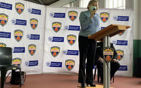 Western Cape Education MEC Debbie Schafer at the Pinelands Emergency Services site for the roll-out of the COVID-19 vaccine programme for education staff on 23 June 2021. Picture: Kaylynn Palm/Eyewitness News