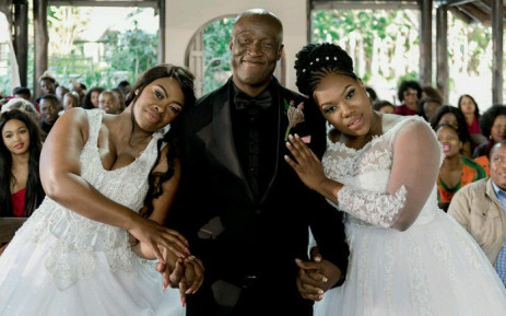Uzalo's Nkunzi, MaMlambo and MaNgcobo. Picture: @Uzalo/Twitter.