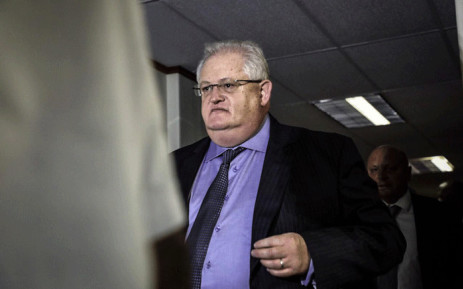 FILE: Angelo Agrizzi arrives at the Specialised Commercial Crime Court in Pretoria on 6 February 2019. He and six others have been charged with corruption, money laundering and fraud. Picture: Abigail Javier/EWN