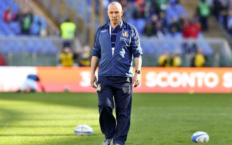 FILE: Italy head coach Conor O'Shea. Picture: AFP
