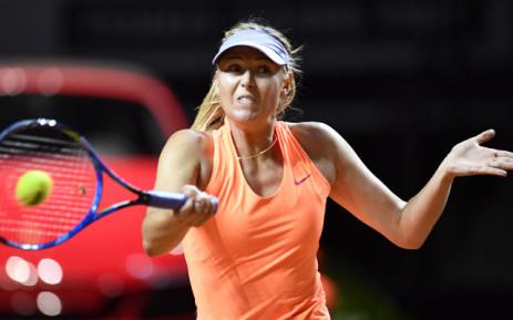 Maria Sharapova. Picture: AFP