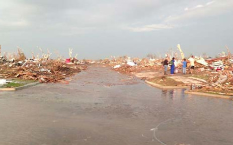 The suburb of Moore in Oklahoma was reduced to rubble after a tornado hit. 100 people were killed. Picture: Nicholas Oxford