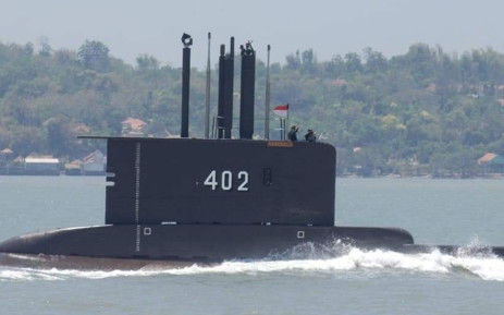Authorities said more parts from the vessel were discovered Sunday, including an anchor and safety suits worn by crew members. Picture: Handout / Indonesia Military / AFP.