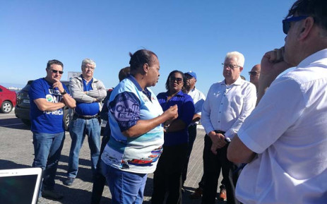 DA Western Cape premier candidate Alan Winde on a tour of the West Coast region on 8 January 2019. Picture: @alanwinde/Twitter