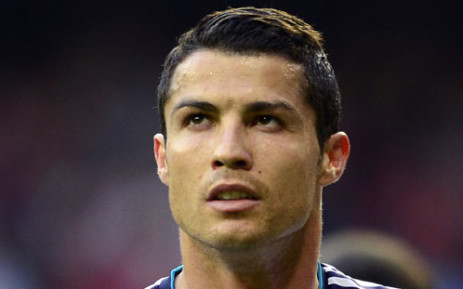 Portugal captain Cristiano Ronaldo has sustained a cut above his left eye.