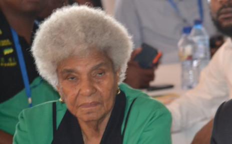 Struggle stalwart, Dr Ruth Segomotsi Mompati. Picture: Facebook.