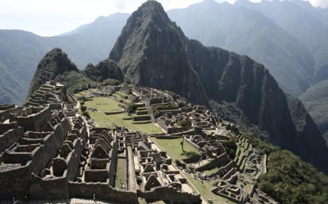 Machu Picchu in Peru. Picture: AFP