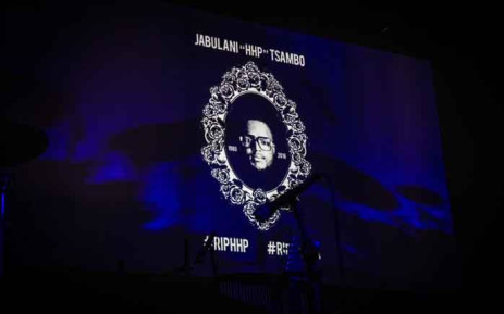 A memorial was held at Newtown Music Factory for the late Jabulani 'HHP' Tsambo. Picture: Abigail Javier/EWN