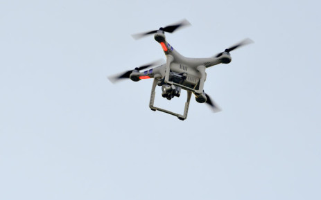 A file image of a drone. Picture: AFP