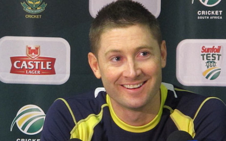 Australia cricket captain Michael Clarke. Picture: Alicia Pillay/EWN