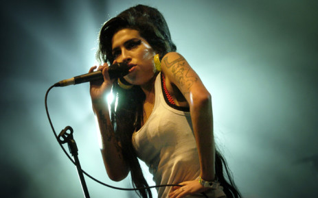 FILE: British singer Amy Winehouse performs on stage in June 2007 during the Eurockeennes Music Festival in Belfort, Eastern France. Picture: AFP.