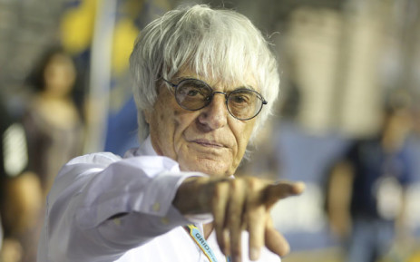 FILE: Formula 1 boss Bernie Ecclestone. Picture: EPA. Picture: AFP.