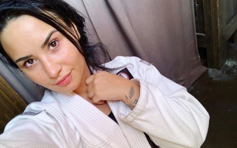 Pop star Demi Lovato. Picture: @ddlovato/Instagram.