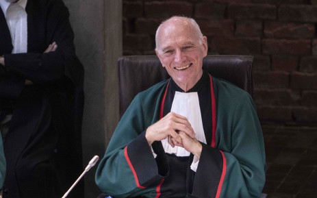 FILE: Justice Edwin Cameron in the Constitutional Court on 20 August 2019. Picture: Abigail Javier/EWN