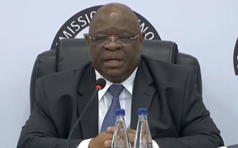 FILE: A screengrab of deputy Chief Justice Raymond Zondo. Picture: EWN.