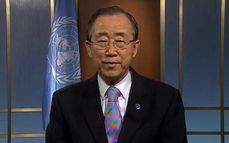 UN Secretary General Ban ki Moon. Picture: UN.
