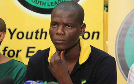 ANCYL Acting President Ronald Ramola. Picture: EWN.