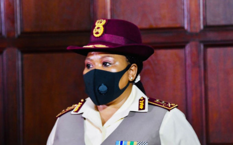 Newly appointed Chief of Defence Intelligence, Major-General Thalita Mxakato. Picture: @SANDFCorpEvents/Twitter
