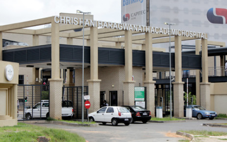 Chris Hani Baragwanath Academic Hospital. Picture: EWN