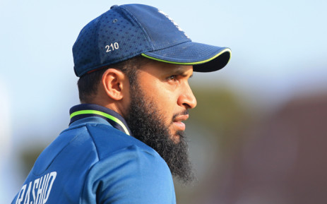 FILE: England's Adil Rashid looks on during the fifth One Day International (ODI) cricket match between England and Pakistan at Headingley in Leeds, northern England on 19 May 2019. Picture: AFP
