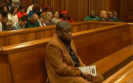 A screengrab shows pastor Timothy Omotoso in the Eastern Cape High Court on 22 October 2018. Picture: SABC Digital News/youtube.com