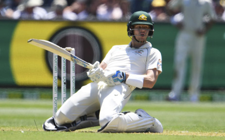 Australia's batsman Steve Smith avoids a bouncer from New Zealand bowler Neil Wagner on the first day of the second cricket Test match at the MCG in Melbourne on 26 December 2019. Picture: AFP