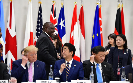 The two-day G20 summit was hosted by Japan in the city of Osaka. Picture: @PresidencyZA/Twitter.