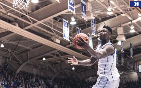 e05eaa95a7c9 US college basketball phenomenon Zion Williamson. Picture   DukeMBB Twitter.