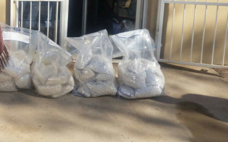 Police nabbed two commuters in possession of mandrax tablets. Picture: @SAPoliceService.