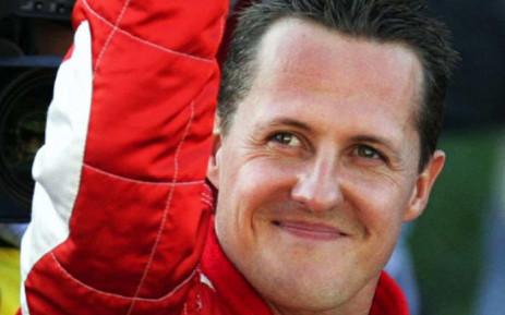 Formula One great Michael Schumacher. Picture: @LewisHamilton/Twitter