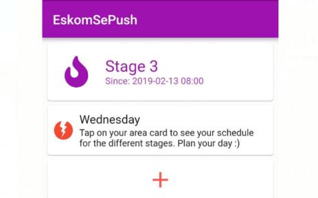 Picture: EskomSePush app.