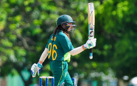 Proteas Women batsman Sune Luus scored a half-century in the win over the West Indies Women in Barbados on 16 September 2018. Picture: @OfficialCSA/Twitter