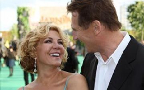 Actress Natasha Richardson and her actor husband Liam Neeson. Picture: Gallo Images/WireImage
